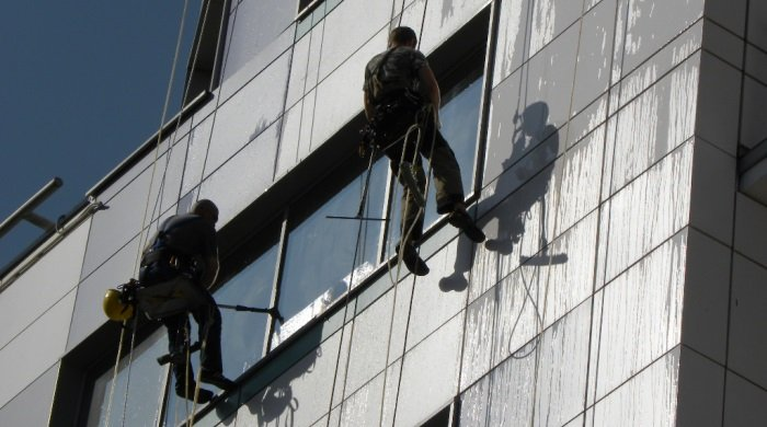 Промышленный альпинизм клининг москва